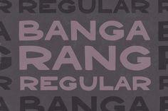 Bangarang Regular by Gerren Lamson on Creative Market