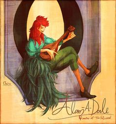Humanized Alan-a-Dale from Robin Hood by chacckco on deviantART