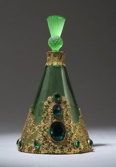 Hoffman perfume bottle ~ 1920's.