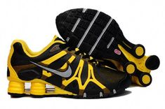 premium selection f2459 8ce61 Nike Air Shox Turbo + 13 XIII Mens Shoes Black Yellow