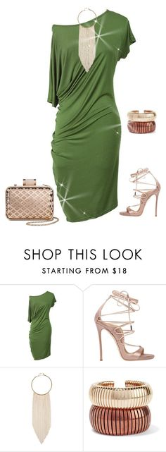 """""""outfit 4861"""" by natalyag ❤ liked on Polyvore featuring Dsquared2, Natasha Accessories, Rosantica and Tevolio"""