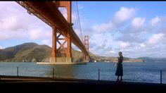 Hitchcock sites Fort Point, Golden Gate Bridge: