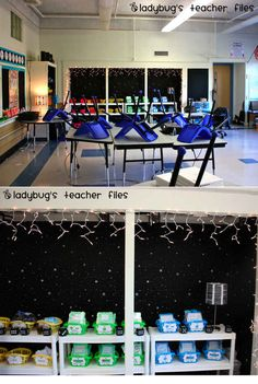 A Space-Themed Classroom