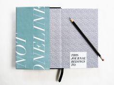 Screen Printed Journal Series