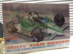 Monogram Quaker State #8 Porsche March Indy Car 1/24th Model Kit 1990 Rlse #MonogramRevell