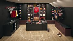 For enthusiasts who need to store and organise their favourite sports gear: the athlete's dressing room showcases your collection of sneakers and trophies in the countless bespoke cubbyholes. Schmidt, Home Projects, Design Projects, Kitchen Interior, Kitchen Design, Made To Measure Wardrobes, Made To Measure Furniture, European Kitchens, Kitchen Display