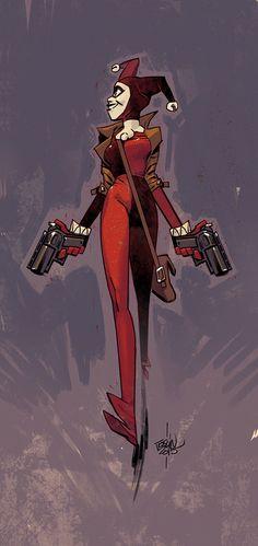 "joslinlapin: ""A new quick Harley Quinn"