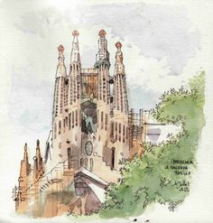 Barcelone, la Sagrada | by Cat Gout