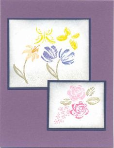 Watercolor Minis Index   	set of 12    solid images: tulip, rose, flower, stem, leaf, butterfly, stamens, lily      Read more: http://www.splitcoaststampers.com/gallery/photo/309331#ixzz2O7OSk9JL
