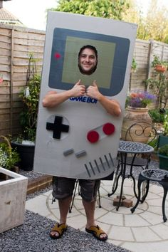 For a recent fancy-dress party with the theme 'The Wonderyears' I opted to go as a Nintendo Gameboy. Below I will detail how I made it using easy to obtain materials. All in all, it took me about 5...