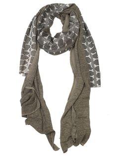 CUTULICULT brown ventotene scarf Scarfs, Belts, Branding Design, Luxury Fashion, Elegant, Brown, Shopping, Women, Style