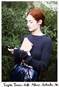 Really long sleeves. From http://www.garancedore.fr/en/2010/09/26/its-all-about-the-detail/#