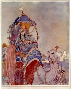Queen of Sheba - Dulac #yasmine