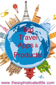 Top Travel Apps & Products! Apps on hotel reviews, the apple watch, travel irons and more!