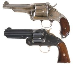Merlin Hulbert and Smith and Wesson mod3