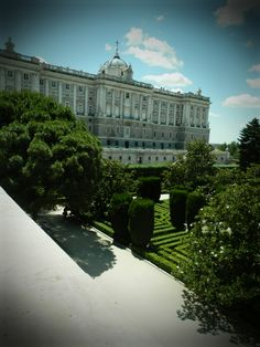 Palacio Real, Madrid...go on a Wednesday to see the changing of the guard!