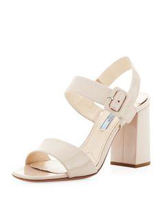550d2c3fd3cf Patent+Leather+Block+Heel+Sandal
