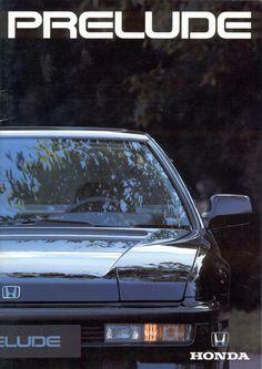 Honda Prelude Mk3 Brochure Netherlands 1989