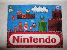 looking for a huge cross stitch project? (click image for a high res version) this super mario bros pattern was submitted by Cross Stitch Embroidery, Embroidery Patterns, Cross Stitch Patterns, Crochet Patterns, Crochet Afghans, Small Sewing Projects, Crochet Projects, Pixel Pattern, Cross Stitch Pictures