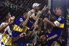 Carlos Tevez kisses Diego Maradona for good luck scores title-winning goal for Boca Juniors Atheist, Champions League, Football Players, Ronaldo, Real Madrid, Premier League, Fifa, Soccer Sports, Football Soccer