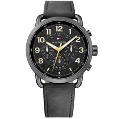 Buying The Right Type Of Mens Watches - Best Fashion Tips Big Watches, Sport Watches, Cool Watches, Watches For Men, Tommy Hilfiger Watches, Mode Online, Sport Casual, Stainless Steel Case, Slim Fit