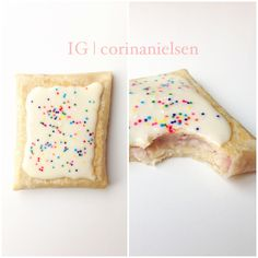 Clean eating & Flexible Dieting: Protein Pop Tarts! Recipe on Instagram. So many possibilities. Low carb and low fat!
