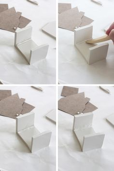 me ~ DIY: Handmade Clay Pots Clay Houses, Ceramic Houses, Miniature Houses, Pots D'argile, Clay Pots, Deco Dyi, Clay Christmas Decorations, Pottery Houses, Pottery Pots