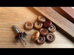 Making Wood Wheels with Toy Wheel Cutter from Carbatec / Carbitool - YouTube