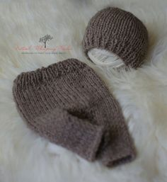 Photography Prop  Alpaca Hat Pant set  by naturalwhispwonders, $55.00 Photography Props, Hand Knitting, Knitted Hats, I Shop, Winter Hats, Trending Outfits, Boys, Handmade Gifts, Baby Boys