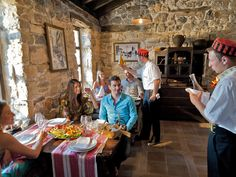 n our Dalmatian #EthnoVillage, traditional dishes are made following original recipes. For those looking for unique gourmet excitement, we suggest meat or fish under the iron bell.