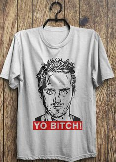 Aaron Paul T Shirt Yo Bitch Breaking Bad Tees by TrendingTops
