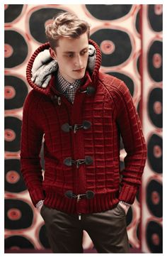 Canali for winter. Great look, love the color