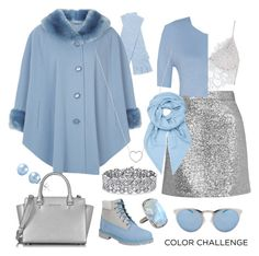 Light blu fits good with silver by borsebyd on Polyvore featuring polyvore мода style Jacques Vert Topshop For Love & Lemons Timberland Michael Kors Palm Beach Jewelry ADORNIA Tiffany & Co. Loewe White + Warren Illesteva fashion clothing Blue Silver bag blueandsilver