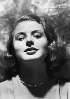Ingrid Bergman photographed by John Engstead, 1940