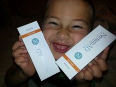 Loves his magic cream!  Check out at http://leslienickels.nerium.com to order the MAGIC!!