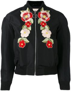 Gucci floral embroidered bomber jacket. Bomber jacket fashions. I'm an affiliate marketer. When you click on a link or buy from the retailer, I earn a commission.