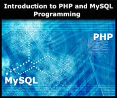 This free online PHP programming course gives an overview of how PHP programming works in the Web environment and you will learn what certain commands and lines of code infer within a .php file and review the resultant effect on client side machines. MySQ