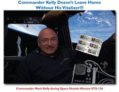 Commander Mark Kelly Awesome! See more at http://mjshealthyway.com