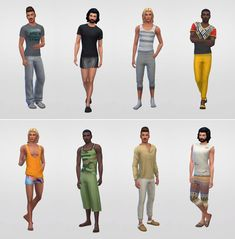 Netz-à-porter – outfits ready to wear for your sims (no CC required) - Page 8 — The Sims Forums Sims 4 Male Clothes, Sims 4 Clothing, Sims 4 Characters, Sims 4 Cc Packs, Sims Four, Backless Top, The Sims4, Sims 4 Mods, Sims Cc