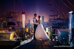 Bride and Groom in Newport, RI by Brad Smith Photography #NewportWedding #JustMarried #NewEnglandWeddingPhotographers
