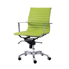 """Winchester Office Chair With Arms"".  A light-weight modern office chair made with a polished aluminum frame and adjustable gas lift device.  Please contact us for pricing (718)363-3097."