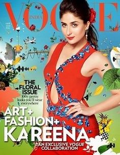 Kareena Kapoor done a Hot And Sexy and old Looking and Very Flowery Photoshoot for Vogue India Magazine March Edition. Artist duo Jiten Thukral and Sumir Tagra's recent exhibition at Mumbai's Famous Studios, where the cover shoot took place, included a series of large hand-painted canvases. Kareena Kapoorshot in about five different looks and dresses for the Vogue India magazine. Kareena while interacting with the media stated that she is now gearing up to start shooting for Rohit Shetty's…