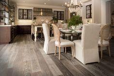 For your remodel project pick Hardwood Flooring, Wide Plank Flooring #debspicks #studio76kitchens #easytomaintain