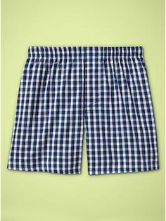 Checkered pattern boxers   Gap