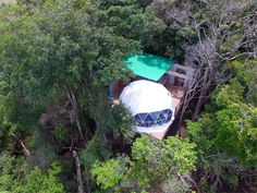 China Monteverde Glamping Unique Experience with 6 Geodesic Domes Tent Pods supplier Dome Structure, Fabric Structure, Shade Structure, Steel Structure, Monteverde, Chongqing, Kitchenette, Shenzhen, Canvas Tent