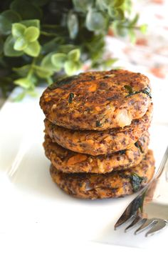 Red quinoa and sweet potato patties