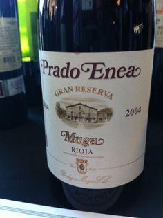 Muga, Prado Enea, Rioja Gran Reserva, 2004 - a beautiful, elegant, savory, traditional Rioja. #wine