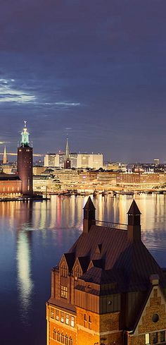 Stockholm Sweden * Done! Stockholm guide ♥ I wouldn't mind to move here ♥ One of the most beautiful cities I ever visited ♥ Places Around The World, Oh The Places You'll Go, Travel Around The World, Great Places, Places To Travel, Places To Visit, Around The Worlds, Travel Local, Shopping Travel