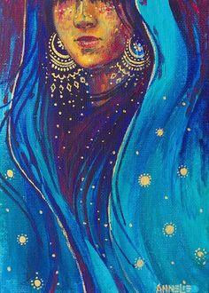 New Fashion Illustration Face Woman Art Paintings Ideas Art And Illustration, Animal Illustrations, Illustrations Posters, Indian Art Paintings, Unique Paintings, Original Paintings, Hippie Art, Hippie Life, Oeuvre D'art