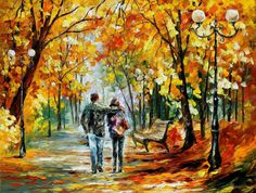 First Love — PALETTE KNIFE Oil Painting On Canvas by AfremovArtStudio, $339.00